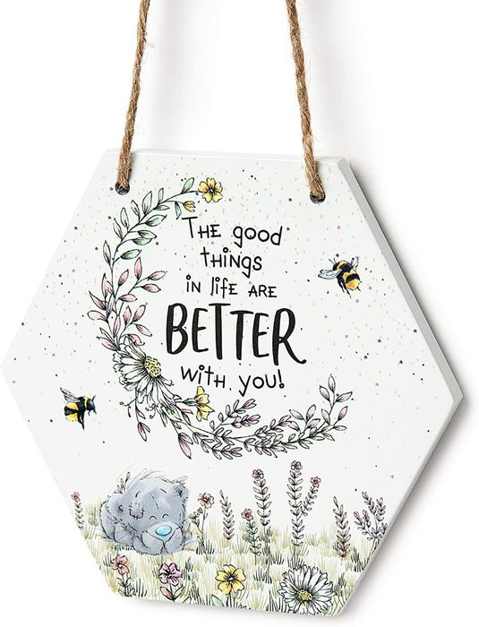 Me to You 'Good Things' Tatty Teddy Gift Plaque