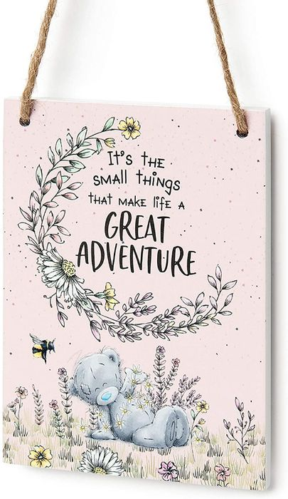 Me to You 'Adventure' Tatty Teddy Gift Plaque