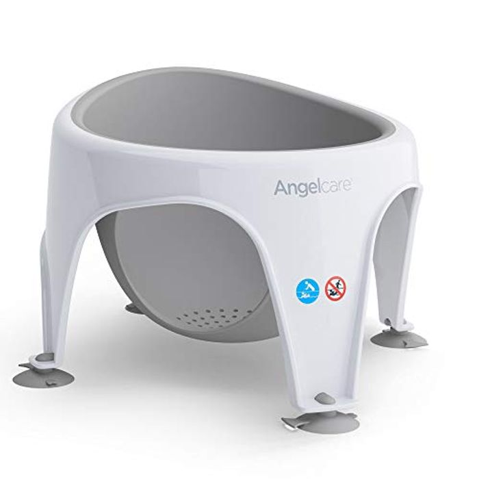 Cheap Angelcare Soft Touch Bath Seat (Grey) - Only £23.99!