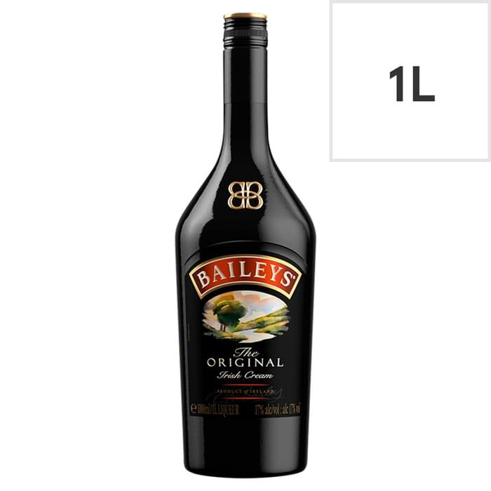 Baileys Original Irish Cream Liqueur 1L £12 Club Card Price