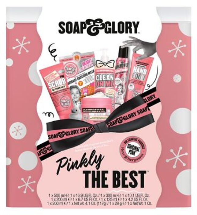 Soap & Glory Pinkly the Best Gift Set worth £37.50