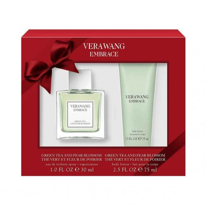 VERA WANG Embrace Green Tea & Pearl Blossom Gift Set