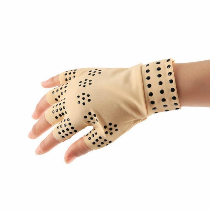 FREE Magnetic Fingerless Compression Gloves + 3.95 P&P