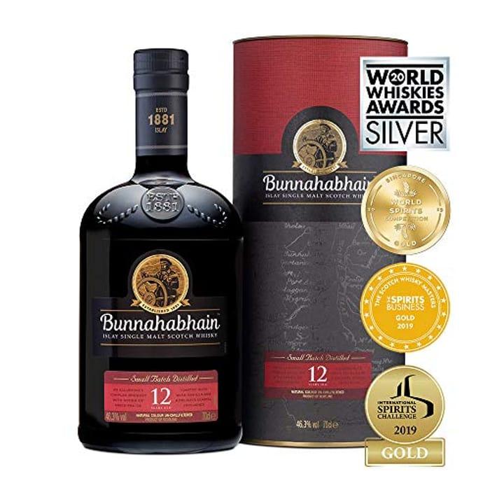 Bunhabian 12 Year Old Single Malt Scottish Whisky