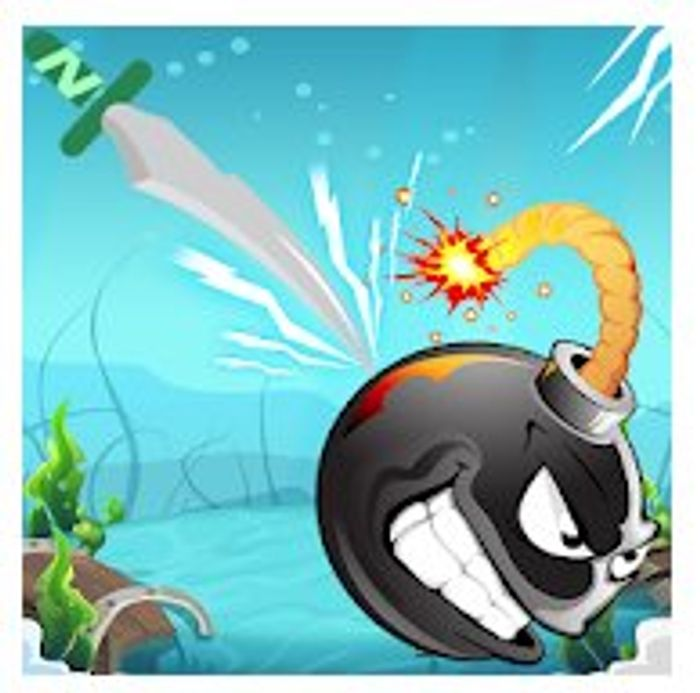 Underwater Knife Hit - Throw Hit Target Game - Usually £0.59
