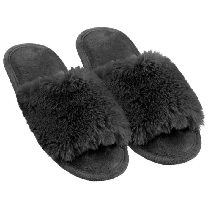 Ladies Memory Foam Slippers.