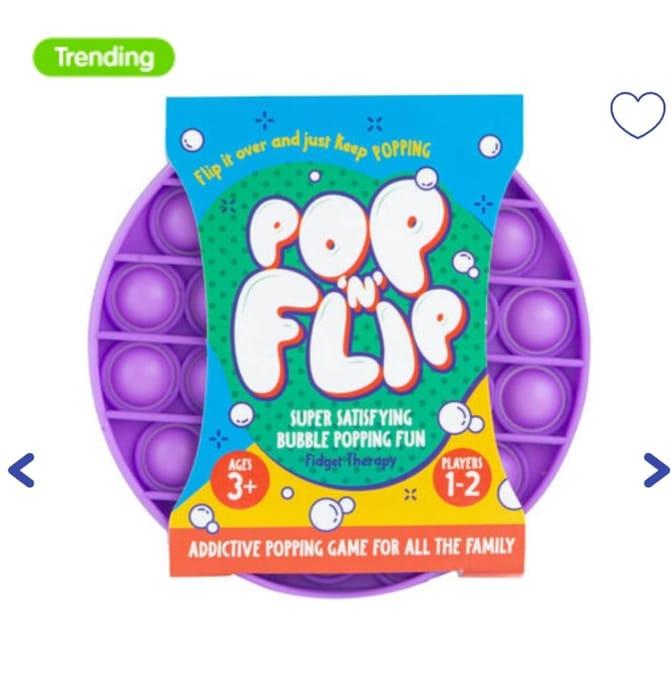 Pop N Flip Bubble Popping Fidget Game