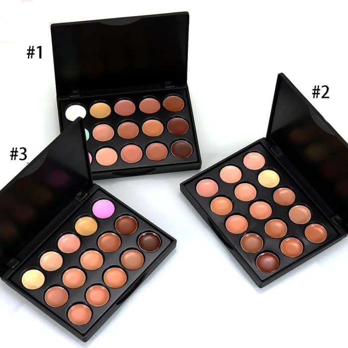 Free 15 Colour Concealer Palette (P&p £3.99)