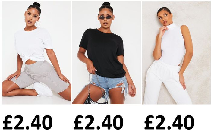 Lots of Clothes Essentials at £2.40! + 99p DELIVERY!