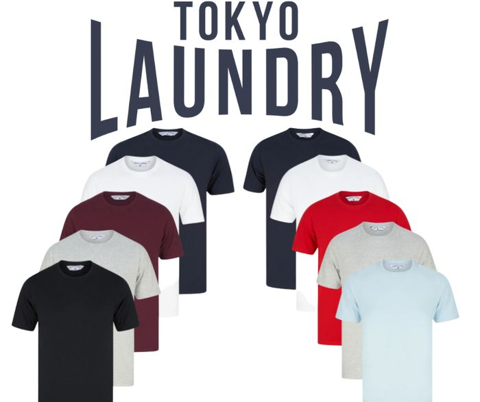 Tokyo Laundry Deal - Get 10 Men's T-Shirts for £29.99!