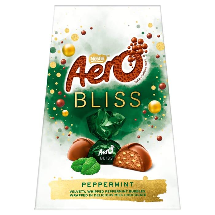 Aero Bliss Mint Chocolate Sharing Box 176G