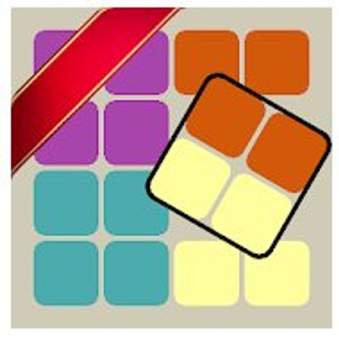 Ruby Square: Logic Puzzle Game - Usually £0.79