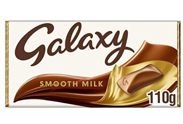 Galaxy Smooth Milk Chocolate Bar, 110 G