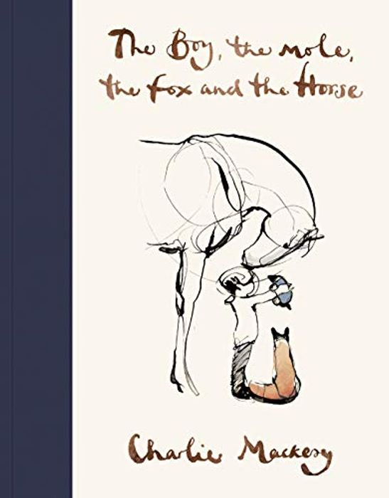CHEAP! The Boy, the Mole, the Fox and the Horse - Hardcover, Age 12+