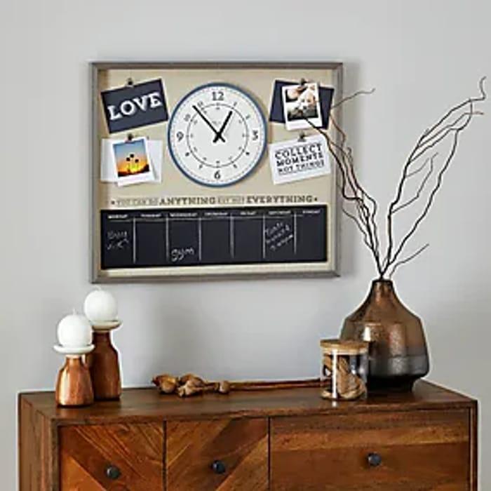 Clock Notice Board