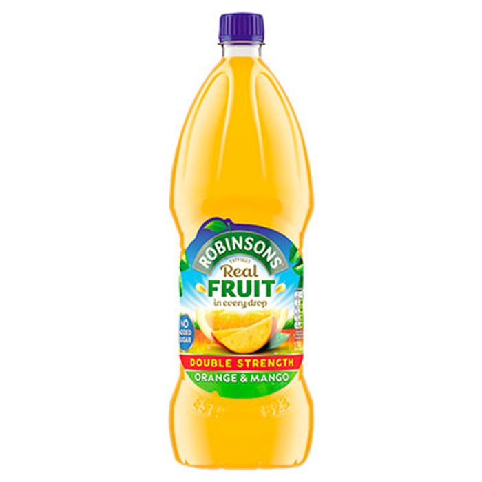 Robinsons Double Concentrate Orange Squash No Added Sugar