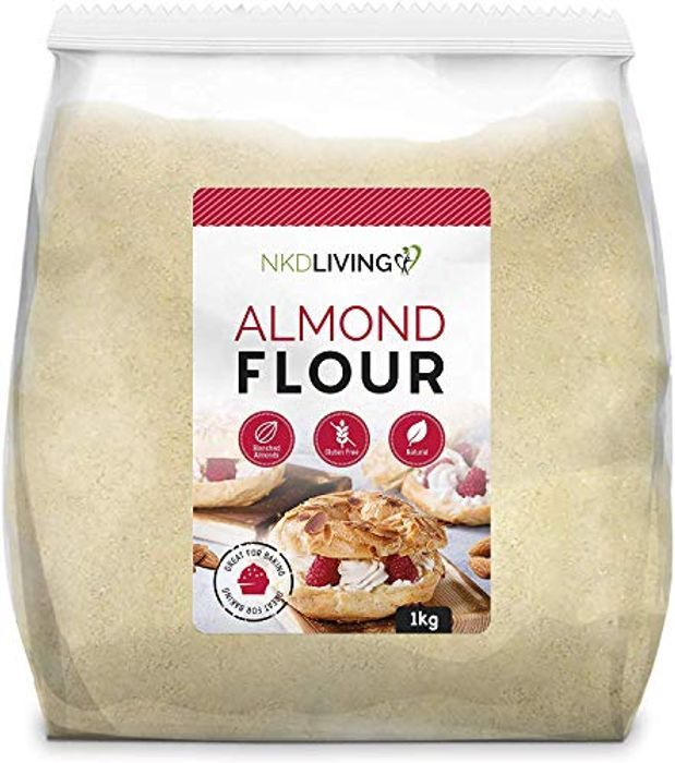 Almond Flour by NKD Living (1kg) Finely Ground Almonds