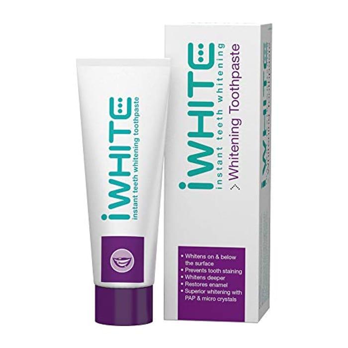 iWhite Instant Teeth Whitening Toothpaste - Active Teeth Whitening