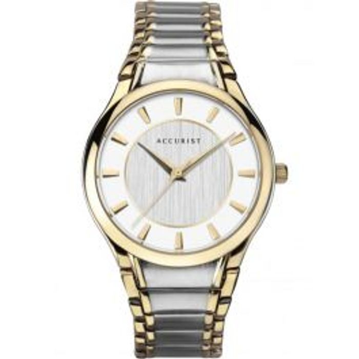 Accurist Mens Two Tone Bracelet Watch