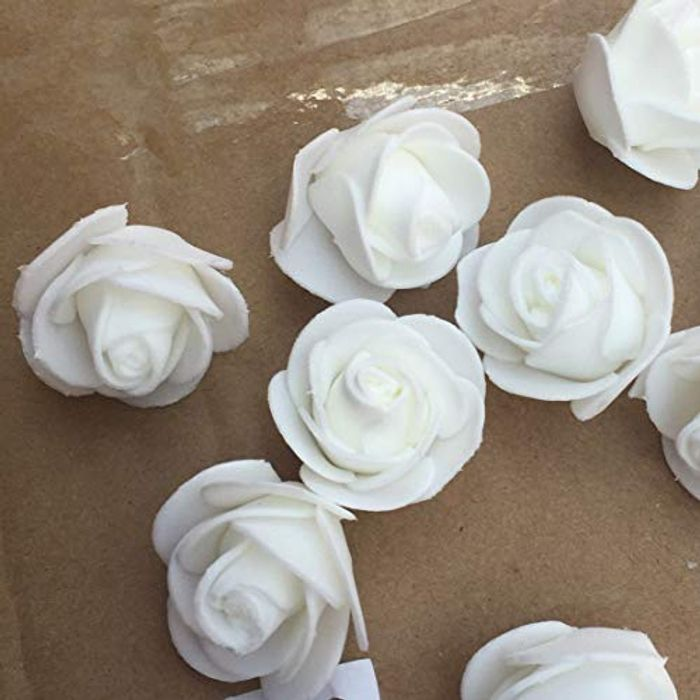 50pcs Mini Foam Roses