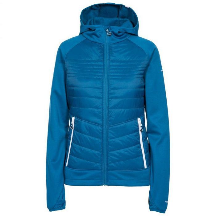 Trespass Womens/Ladies Finito Fleece Jacket (Cosmic Blue)