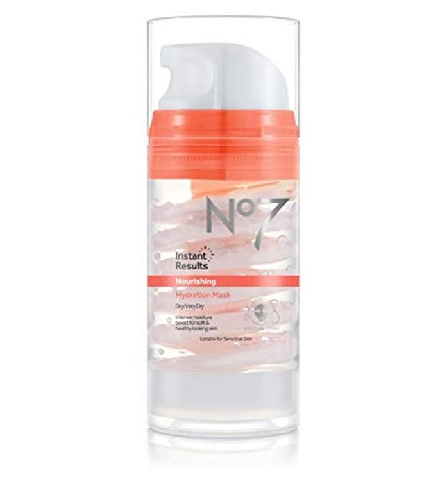 Boots No7 Beautiful Skin Hydration Mask for Dry/Very Dry Skin 100ml