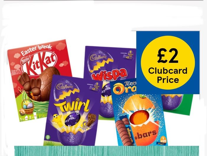 All Large Easter Eggs and Mug Easter Eggs £2 Only