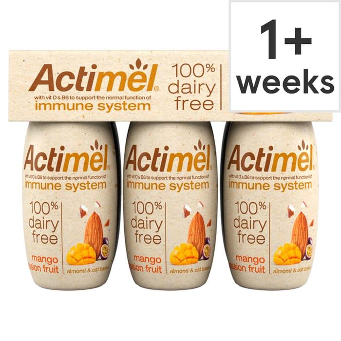 Actimel Dairy Free Almond Mango & Passion Fruit 600G