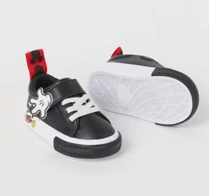 Mickey Mouse Kids Trainers 33%off@ H&M