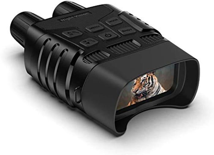 Night Vision Binoculars 300m Range Only £79.99 Delivered