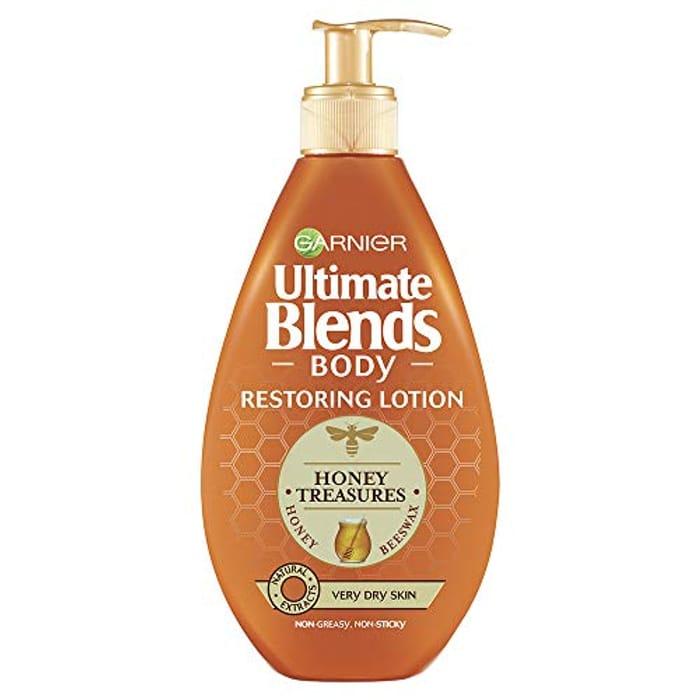 Garnier Ultimate Blends Honey Body Lotion Very Dry Skin, 400ml