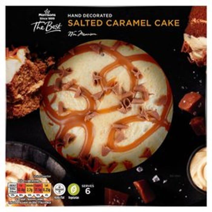 Morrisons The Best Cake:Salted Caramel\Chocolate\Lemon\Carrot\Red Velvet\Coffee