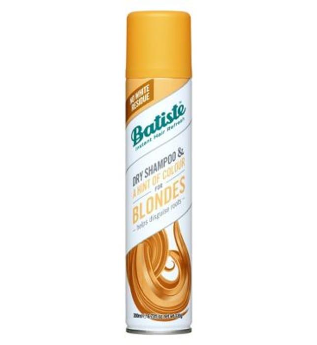 Batiste Dry Shampoo - Brilliant Blonde 200ml