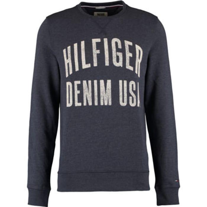 HILFIGER DENIM Indigo Vintage Logo Sweatshirt
