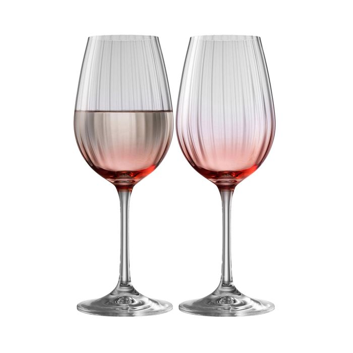 Galway Living - Erne Wine Set of 2 in Blush