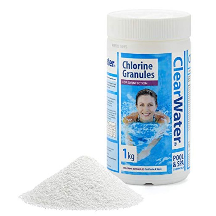 Clearwater Chlorine Granules for Hot Tub Spa & Pool