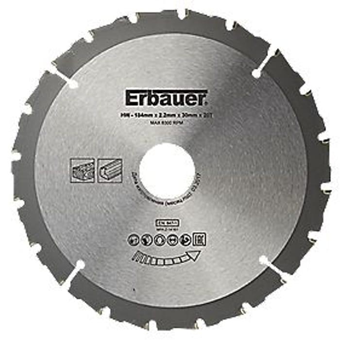 Erbauer Circular Saw Blade 65%off
