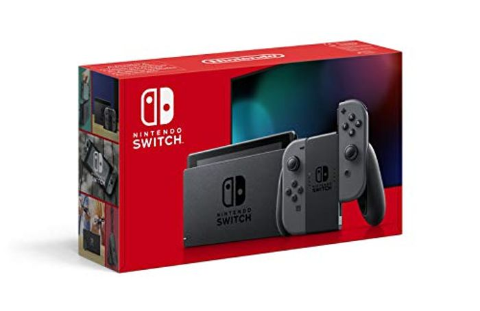 Nintendo Switch Console (Grey) IN STOCK AT AMAZON