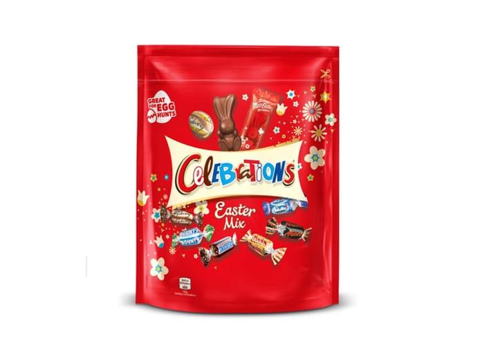 Buy 2 for £5 - Celebrations Easter Mix 400g / Swizzels Spring Mix Bag 500g