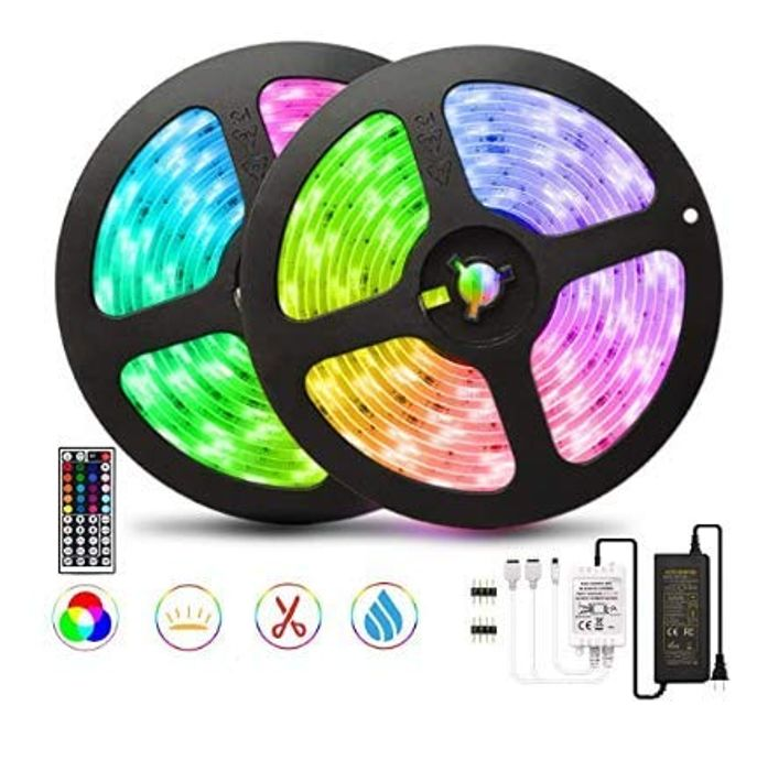 10M LED Strip Lights 300 LED with with Music Sync + 44 Key Remote