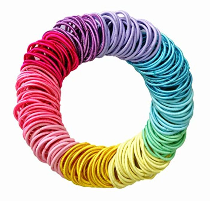 Elastic Hairbands 200 Pieces - Only £2.99!