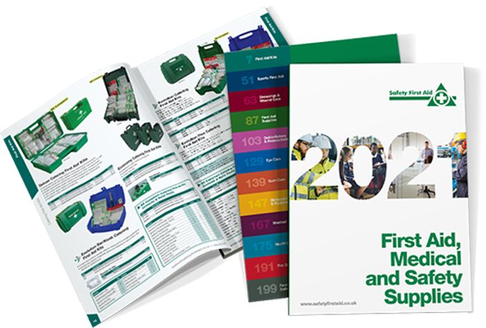 Free Safety First Aid Product Catalogue