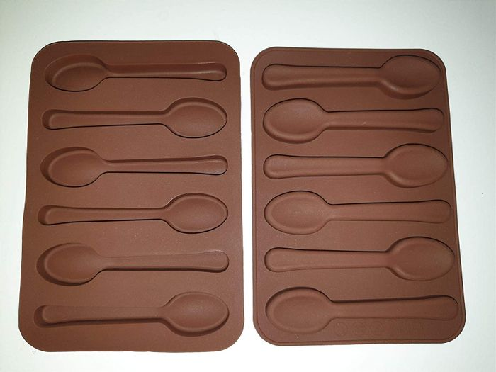 Spoon Shape Silicone Chocolate Mould