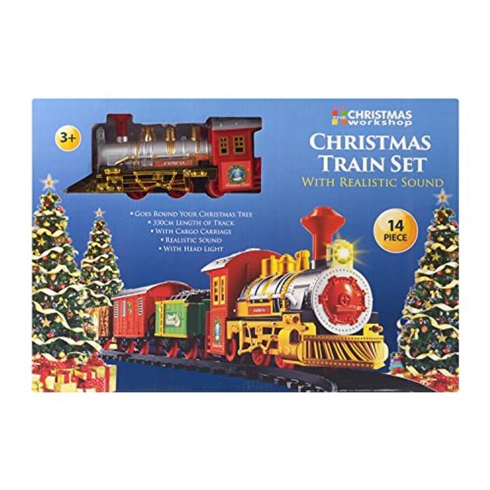 Santas Express Delivery Christmas Train
