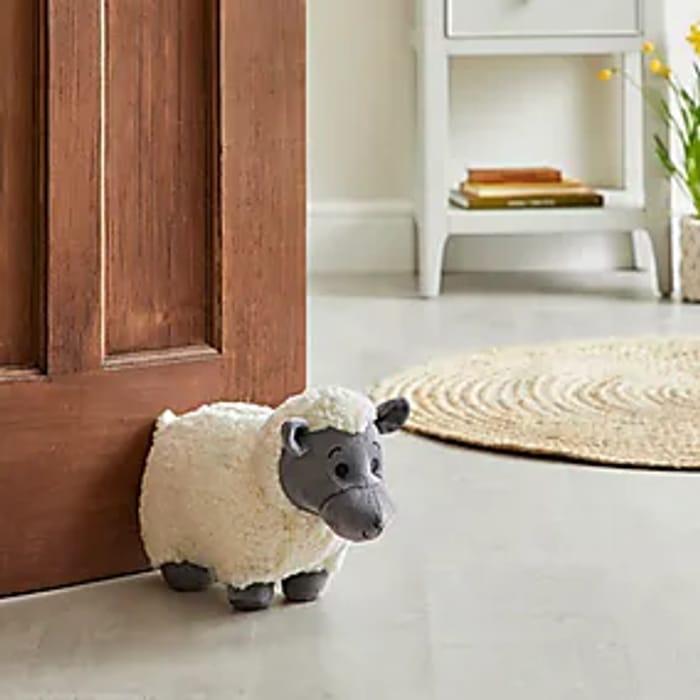 Easter Sheep Doorstop