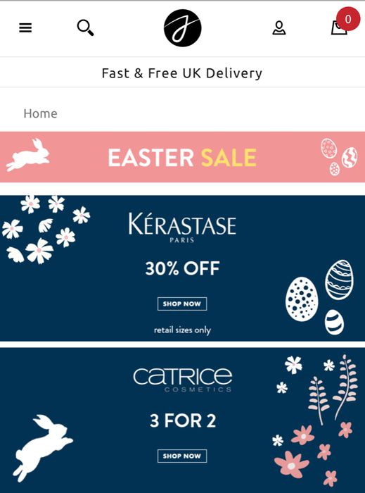 Justmylook Easter Sale