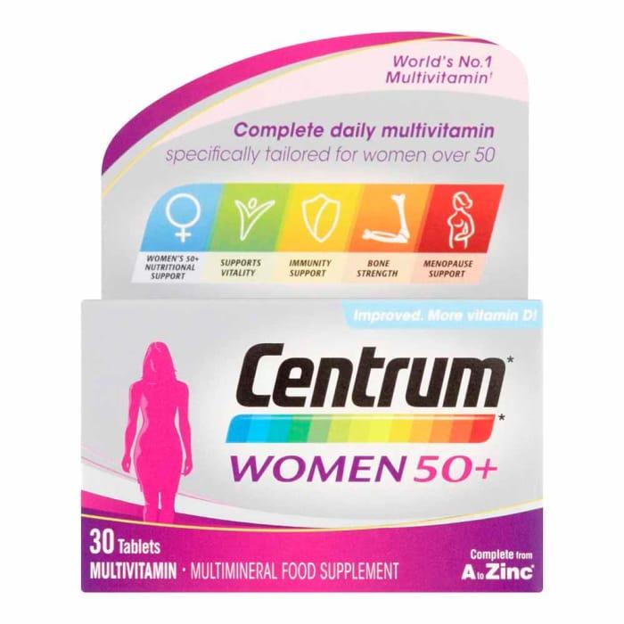 Centrum Women 50+ Multivitamins 30 Tablets