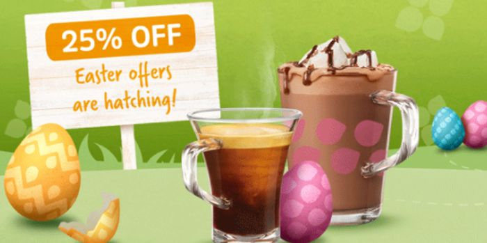 TASSIMO Easter Sale 25% off