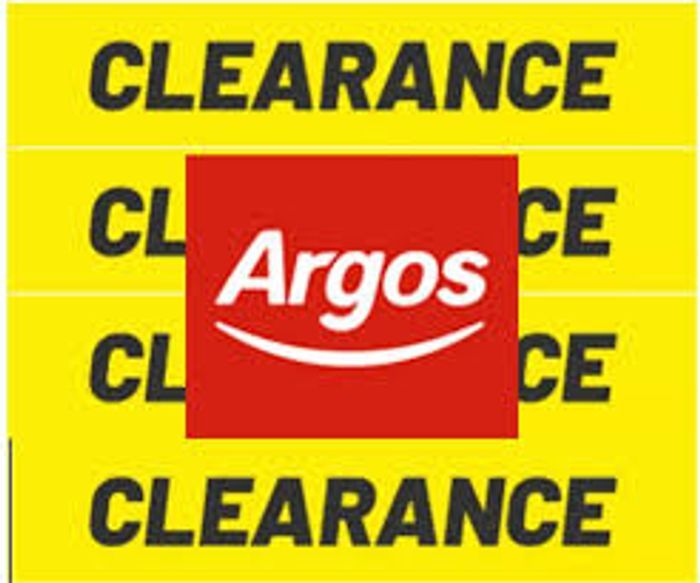 Argos Clearance Sale - Over 1,000 Products to Clear