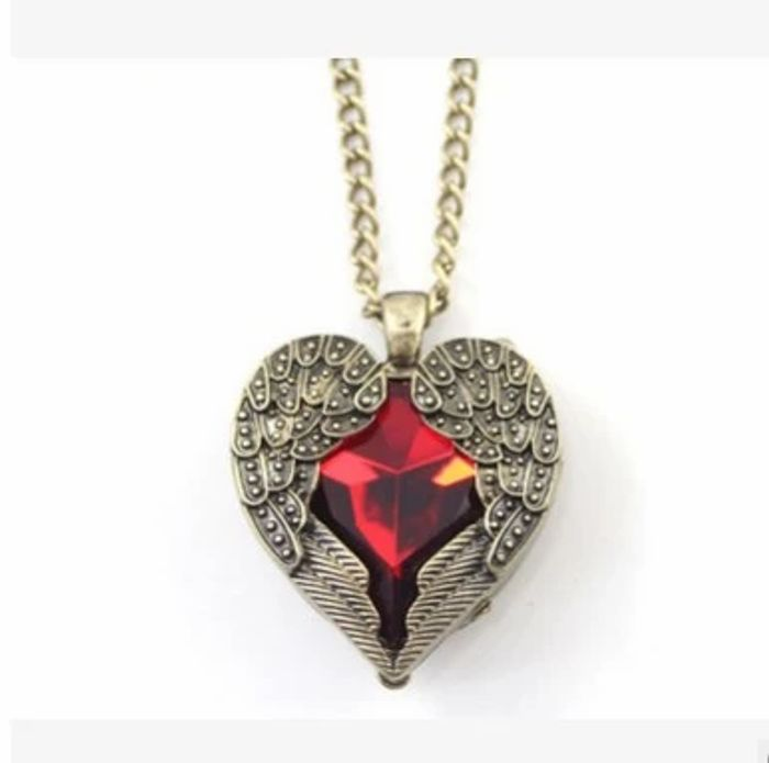 Free Offer on the Vintage Heart Angel Pendant